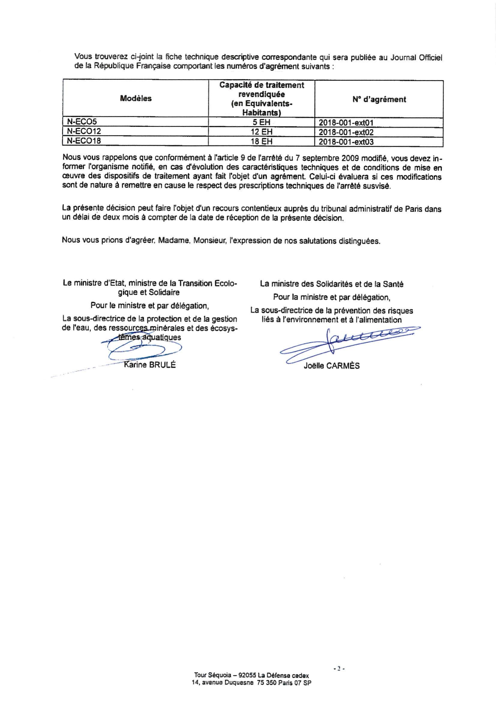 Ntg Nouveau Agrment Franais New French Agreement