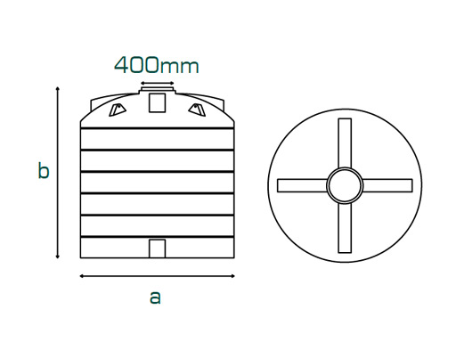 Large Capacity - Cylindrical Tanks